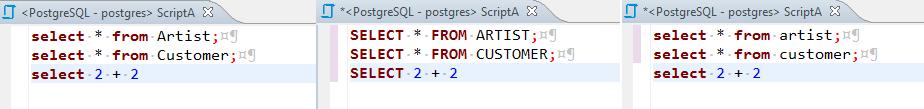 SQL Formatting - 《DBeaver General User Guide》 - 书栈网