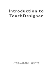 Introduction to TouchDesigner(英文)
