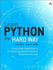 笨办法学Python3(Learn Python3 The Hard Way 中文版)