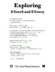 Exploring ES2018 and ES2019
