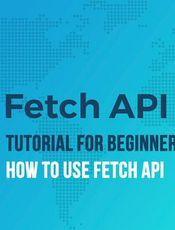 阮一峰《Fetch API 教程》