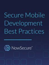 Secure Mobile Development