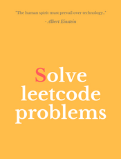 Solve Leetcode Problems(英文)