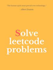 Solve Leetcode Problems(英文)